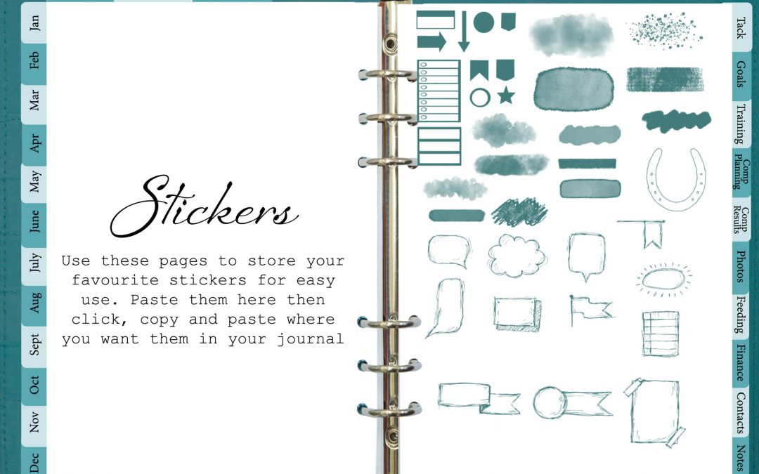 How to use Sticker in GoodNotes5